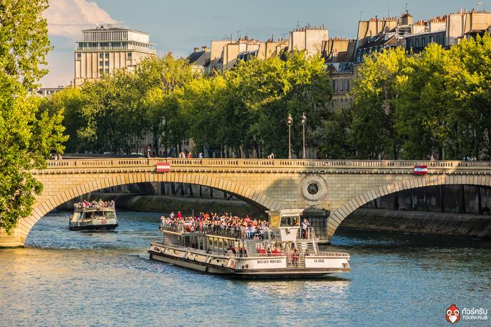 ล่องเรือแม่น้ำชมวิวกรุงปารีส