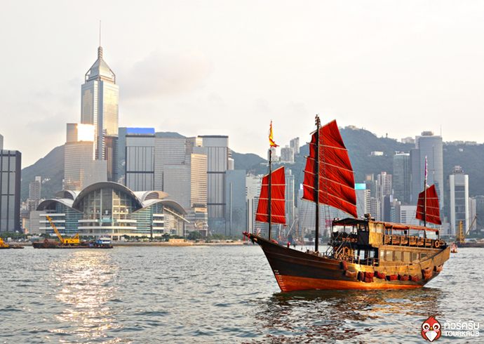 The Victoria Harbour, Hong Kong