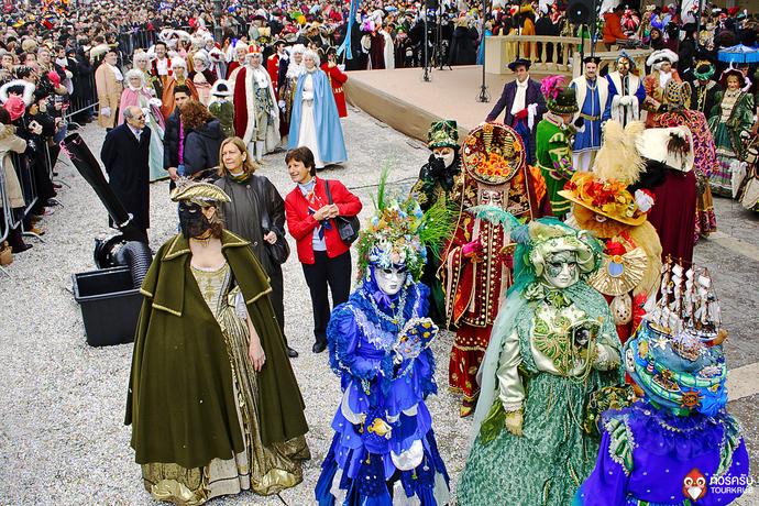เทศกาล Carnival ที่เวนิส