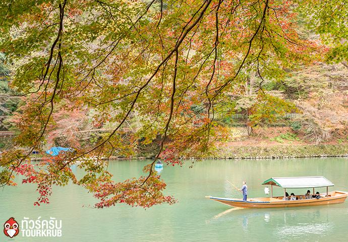 ล่องเรือในแม่น้ำโฮซูกาวะ