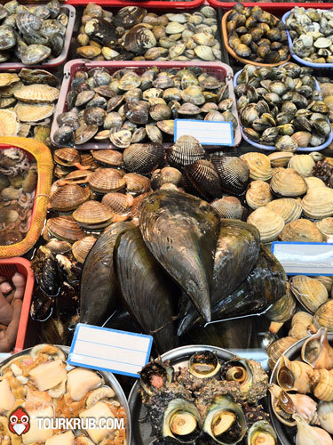 เมืองปูซาน เต็มไปด้วยอาหารทะเล