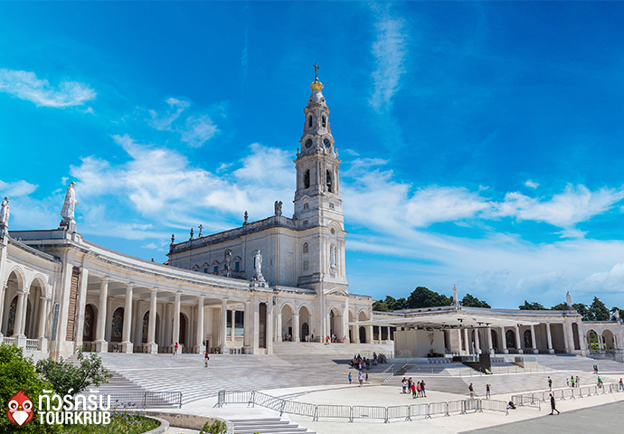 The Sanctuary of Fatima in a beautiful summer day, Portugal