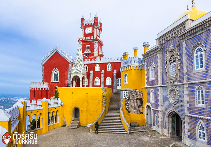 most beautiful castles of Europe Pena palace in Portugal