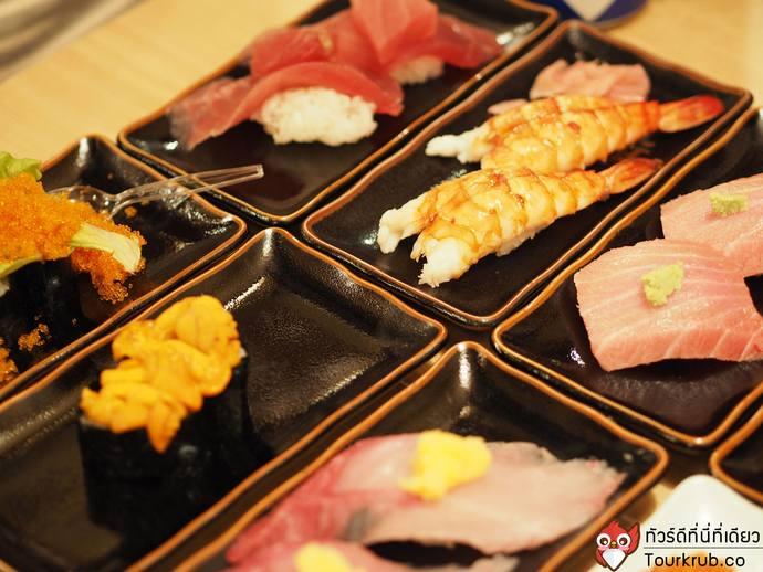 ร้านอาหาร_โอซาก้า_Uoshin_Sushi_1